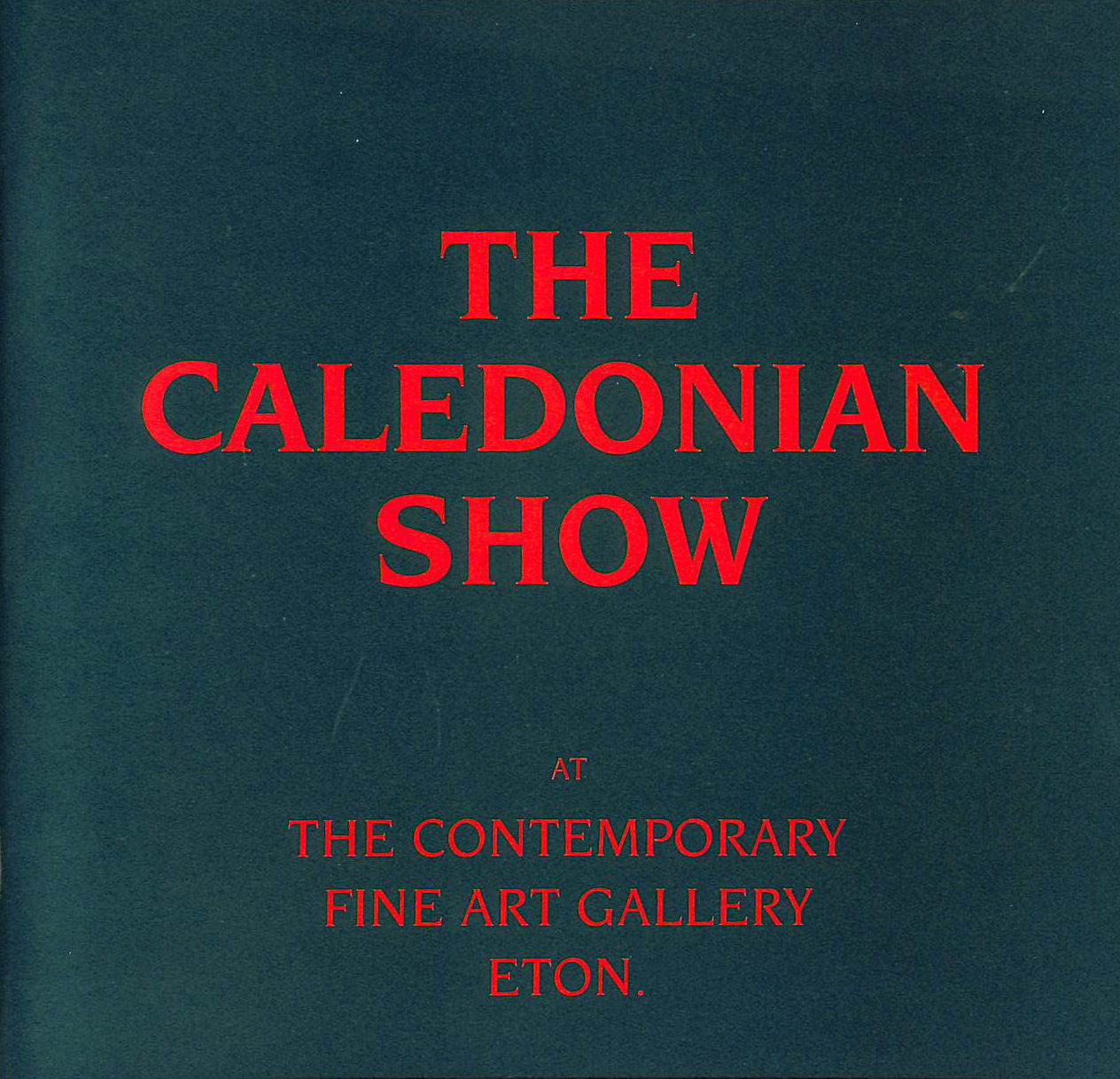 Image for The Caledonian Show (I)