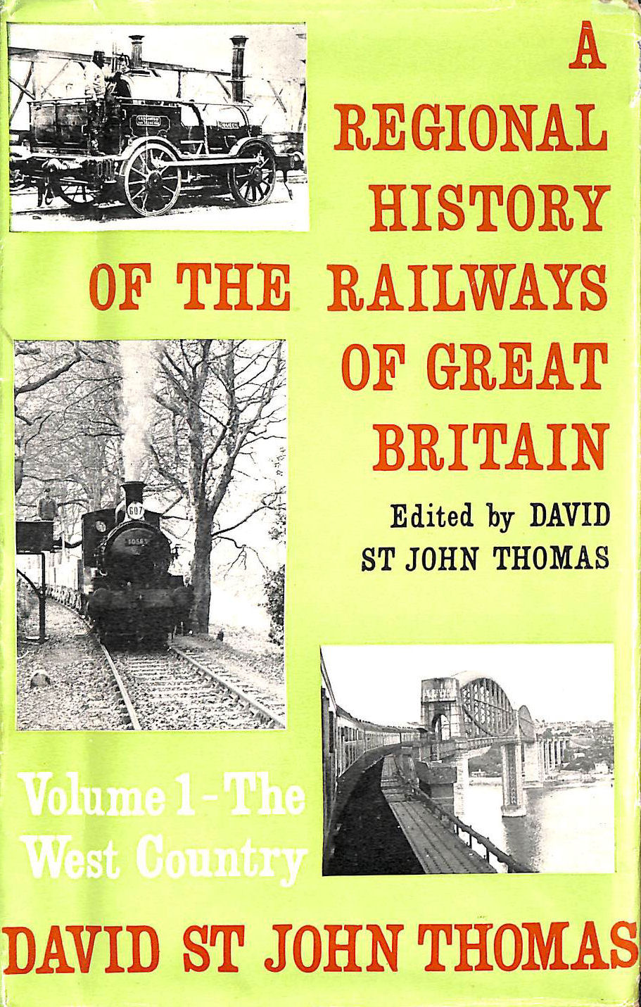 Image for A Regional History Of The Railways Of Great Britian, Volume 1, The West Country