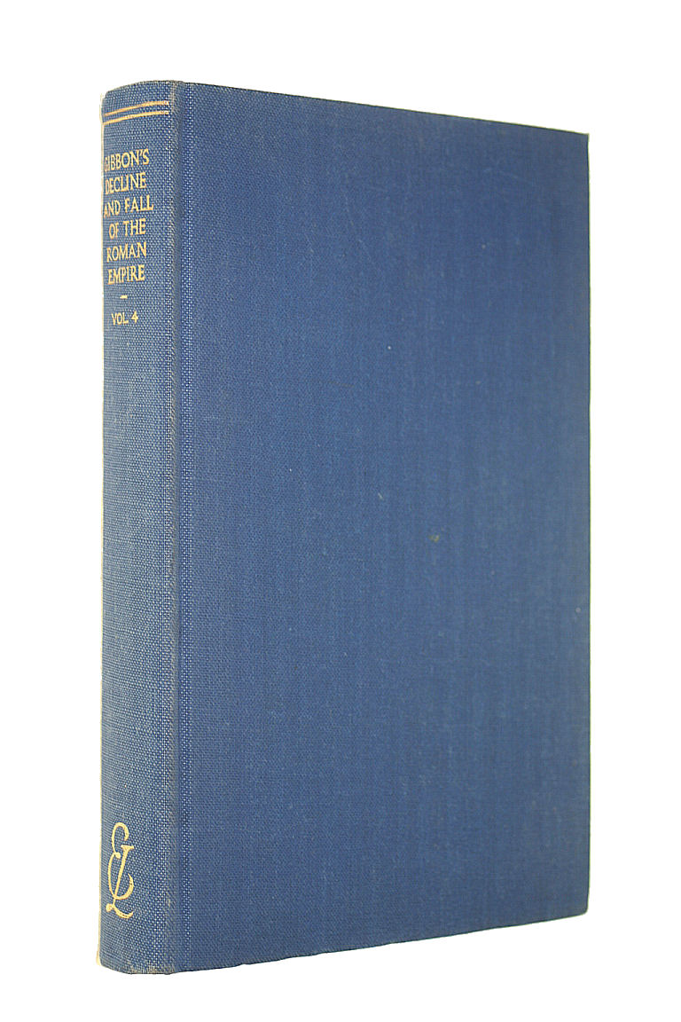 Image for Gibbon's Decline and Fall of the Roman Empire Volume 4 (Everyman's Library)