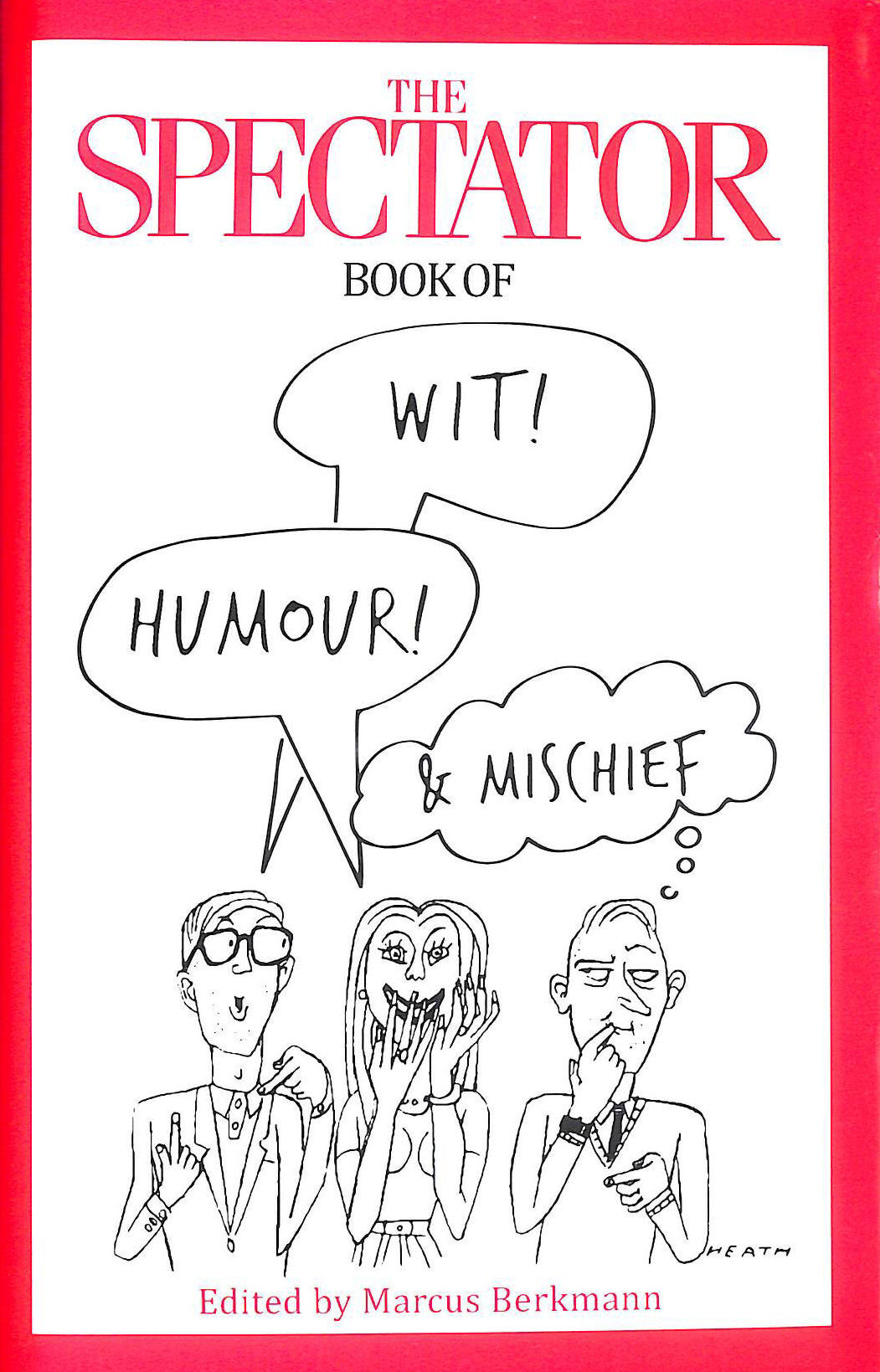 Image for The Spectator Book of Wit, Humour and Mischief