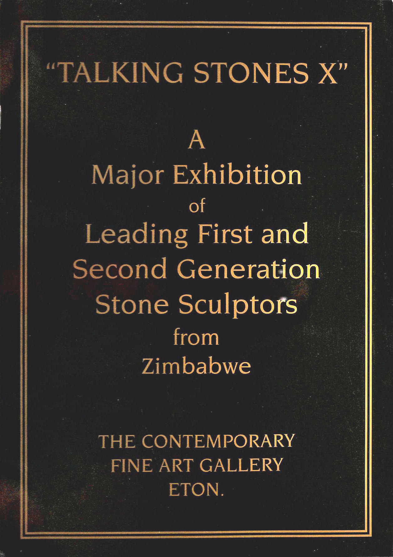 Image for Talking Stones X, A Major Exhibition of Leading First and Second Generation Stone Sculptors from Zimbabwe
