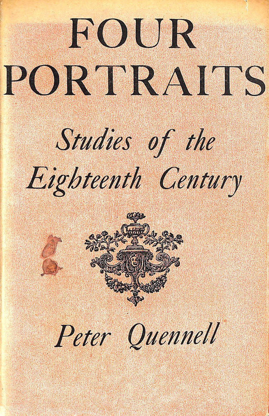 Image for Four Portraits, Studies of the Eighteenth Century