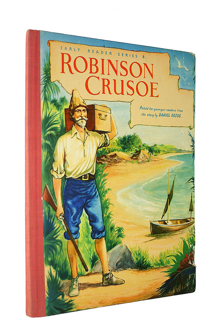Image for The Life and Suprising Adventures of Robinson Crusoe of York Mariner - No. 8