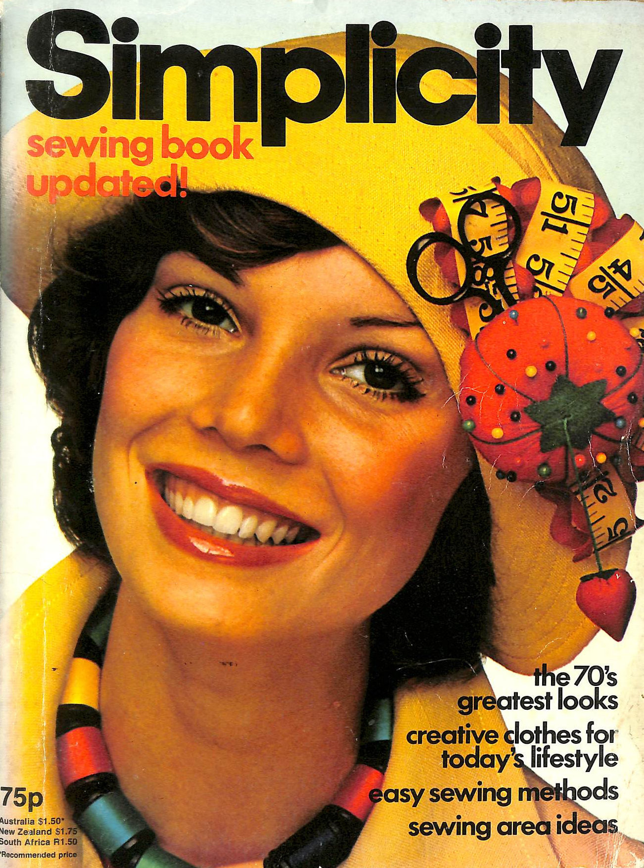 Image for Simplicity Sewing Book Updated 1975