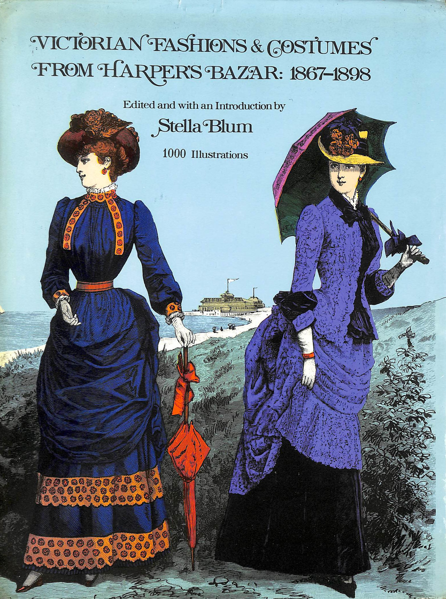 "Image for Victorian Fashions and Costumes from ""Harper's Bazaar"", 1867-98"
