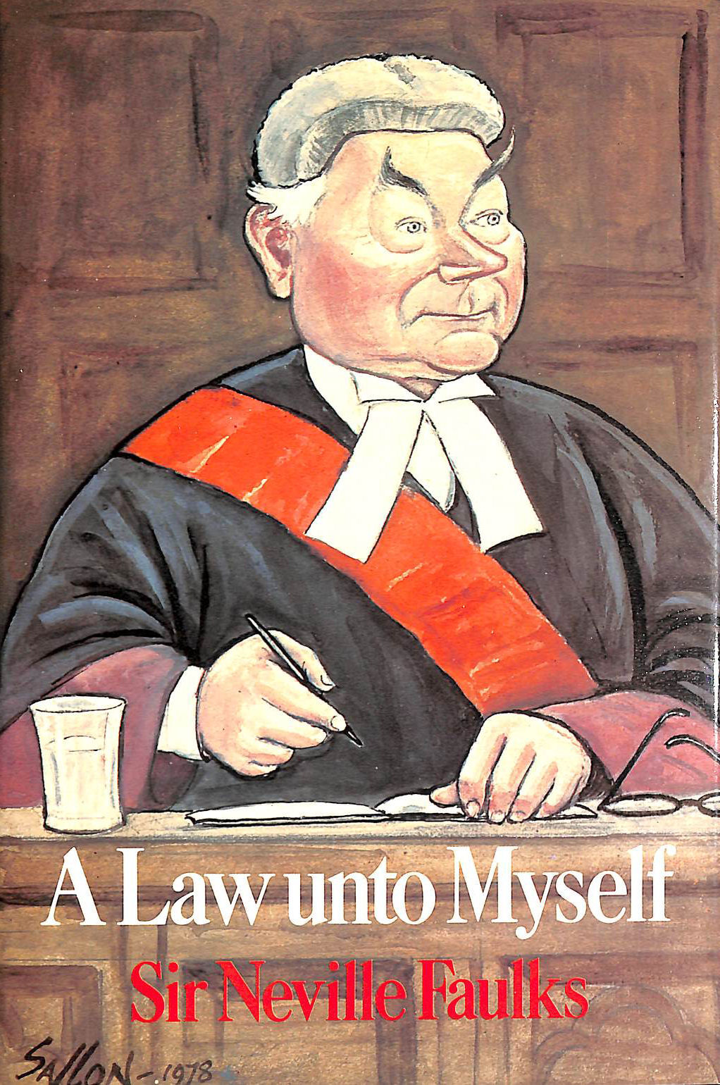 Image for Law Unto Myself