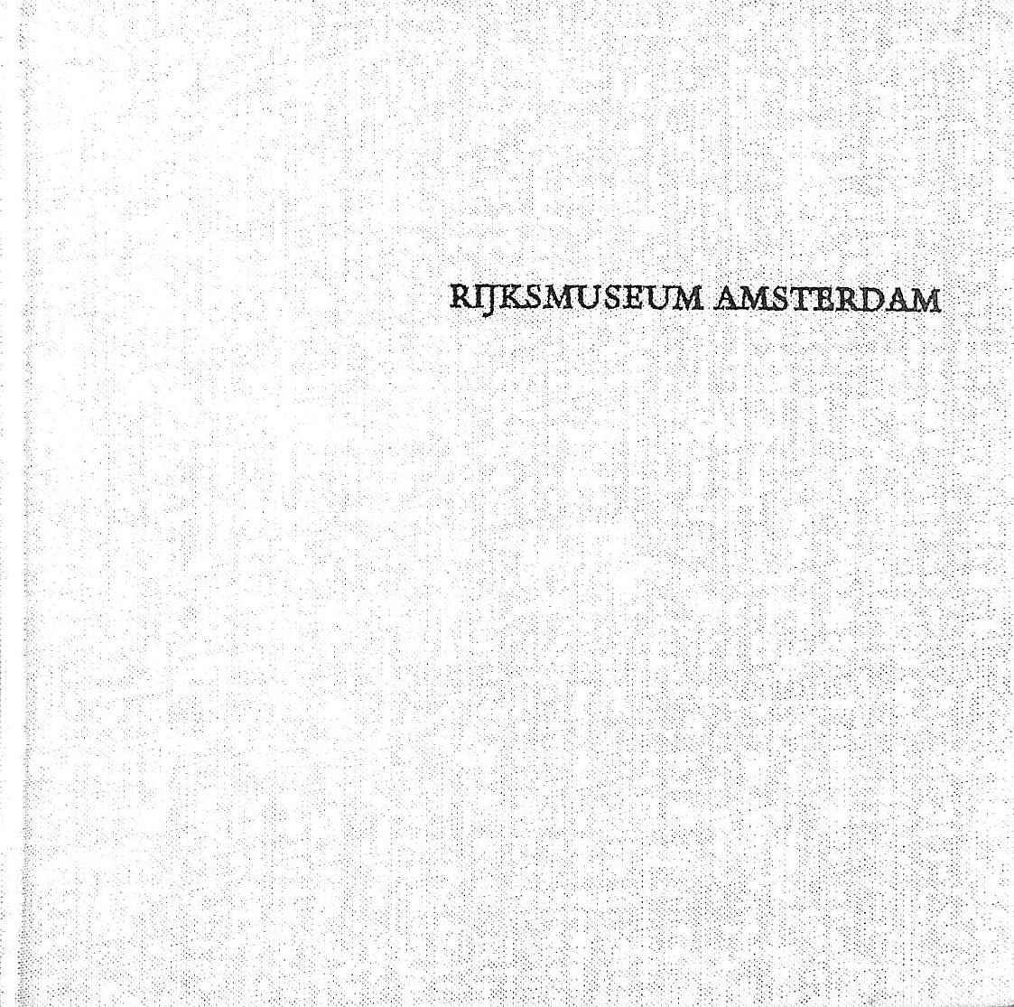 Image for Rijksmuseum, Amsterdam: Dutch Painting (The Little Art Book)
