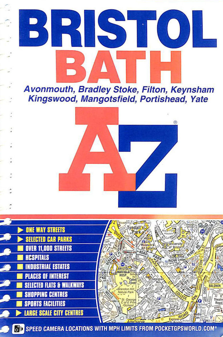 Image for Bristol and Bath Street Atlas (spiral) (A-Z Street Atlas)