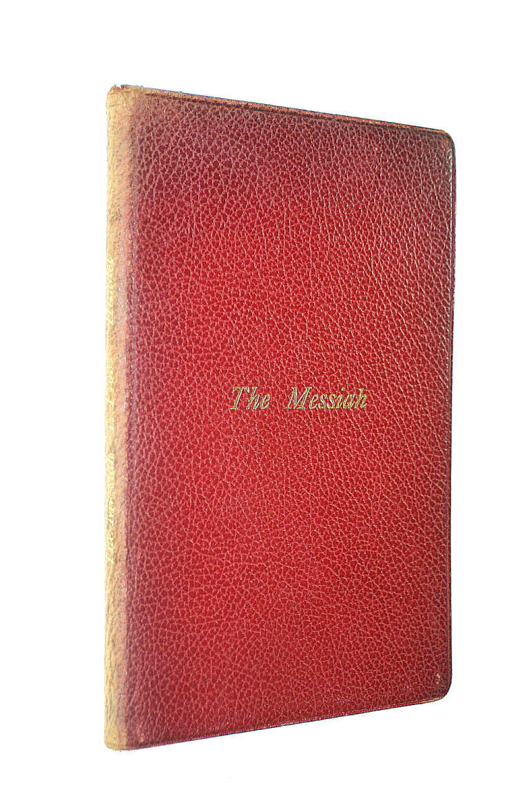 Image for The Messiah. A Sacred Oratorio
