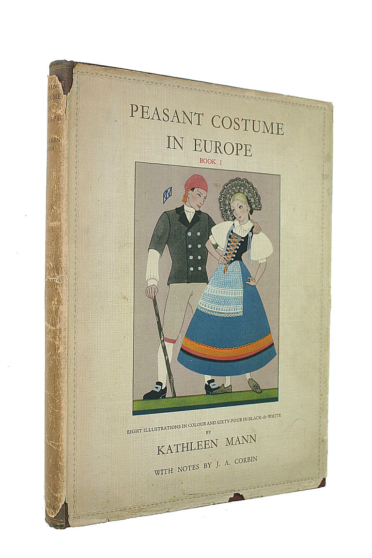 Image for Peasant Costume in Europe , Book 1