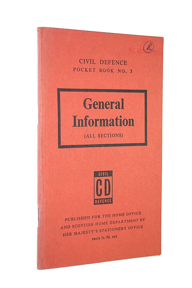 Image for General Information (all sections): Civil defence Pocket Book no. 3