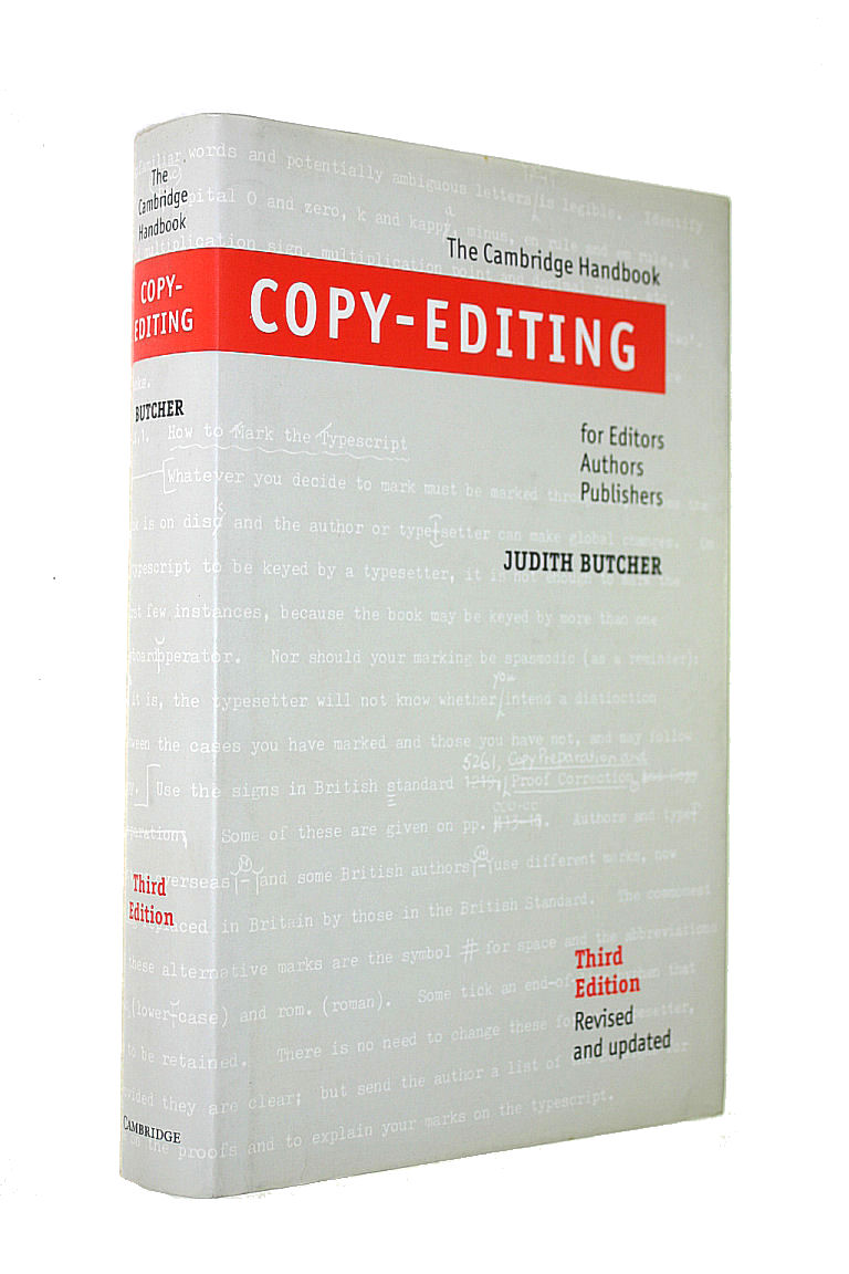 Image for Copy-Editing: The Cambridge Handbook for Editors, Authors and Publishers
