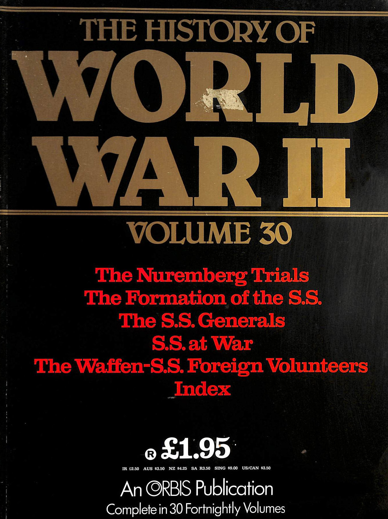 Image for The History of World War II, Volume 30