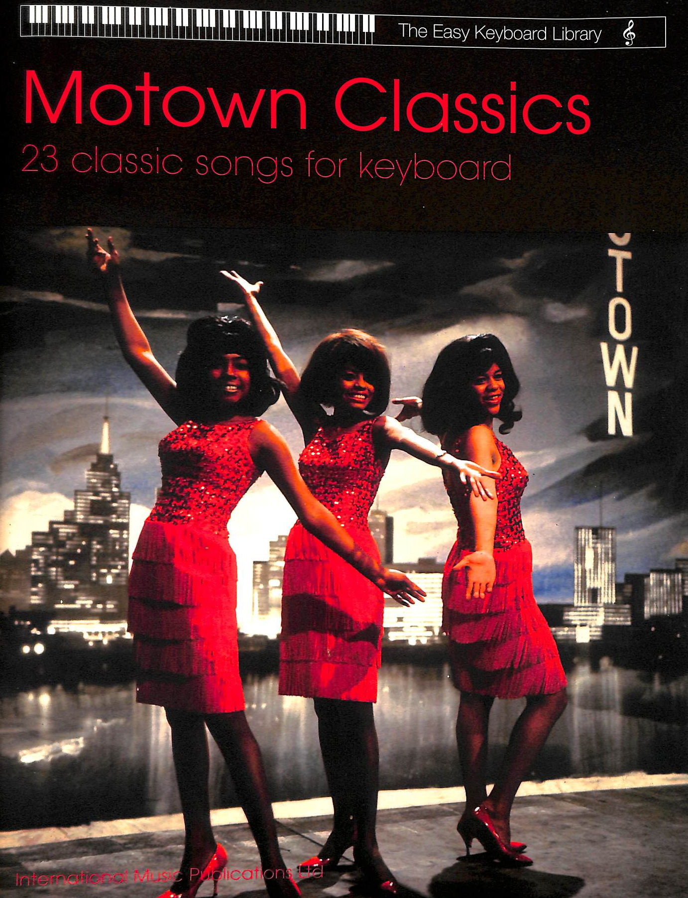 Image for Motown Classics for Keyboard (Easy Keyboard Library)