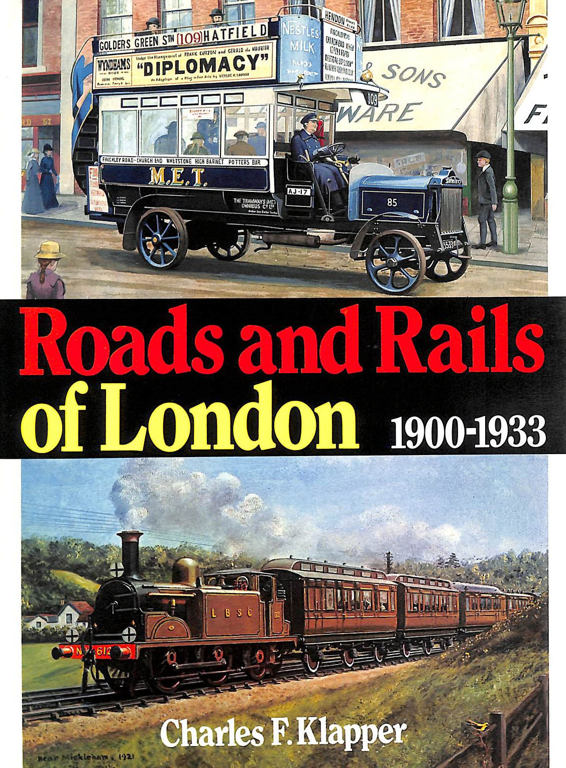 Image for Roads and Rails of London 1900-1933