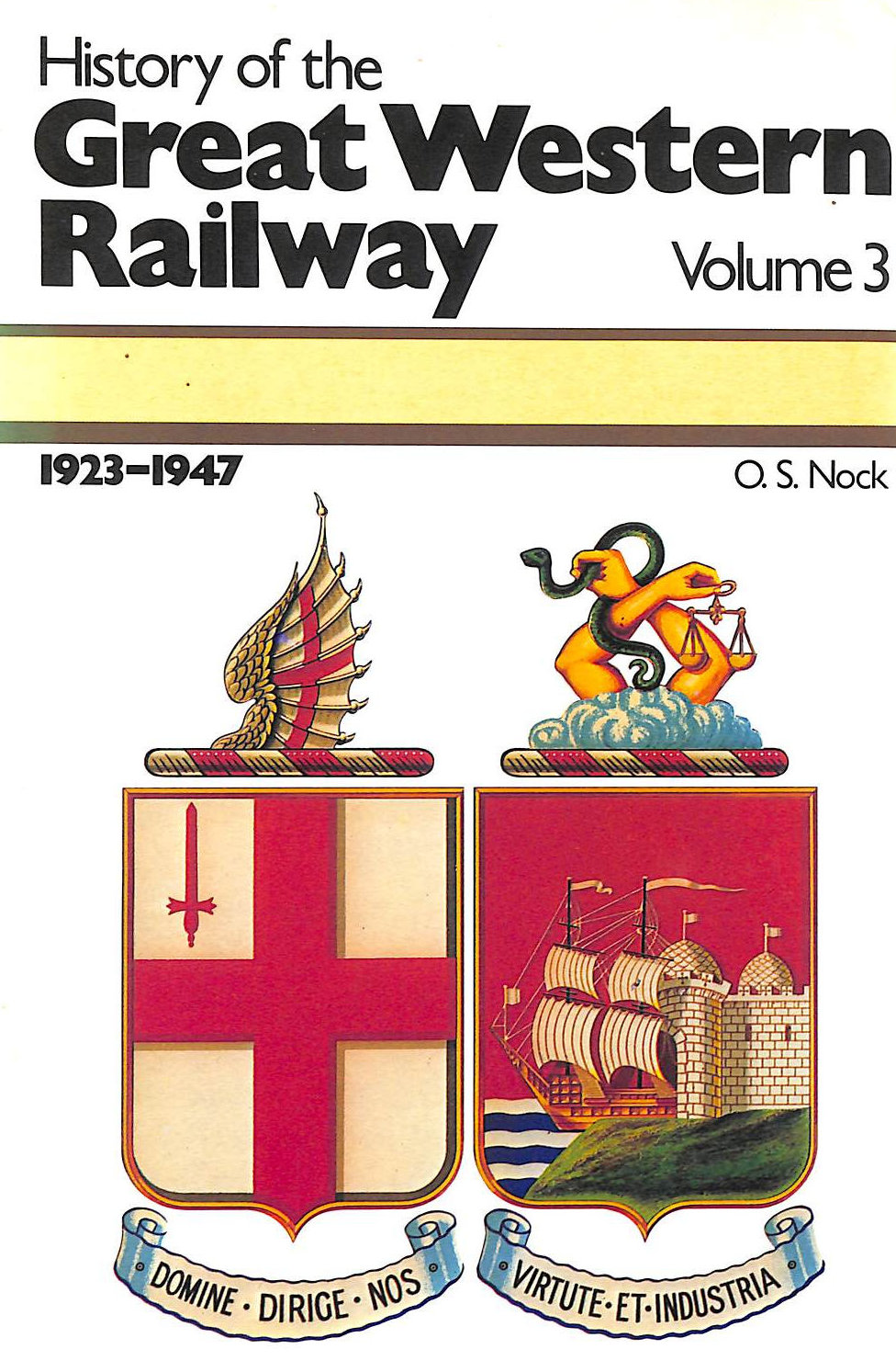 Image for History of the Great Western Railway, Vol 3,  1923-47