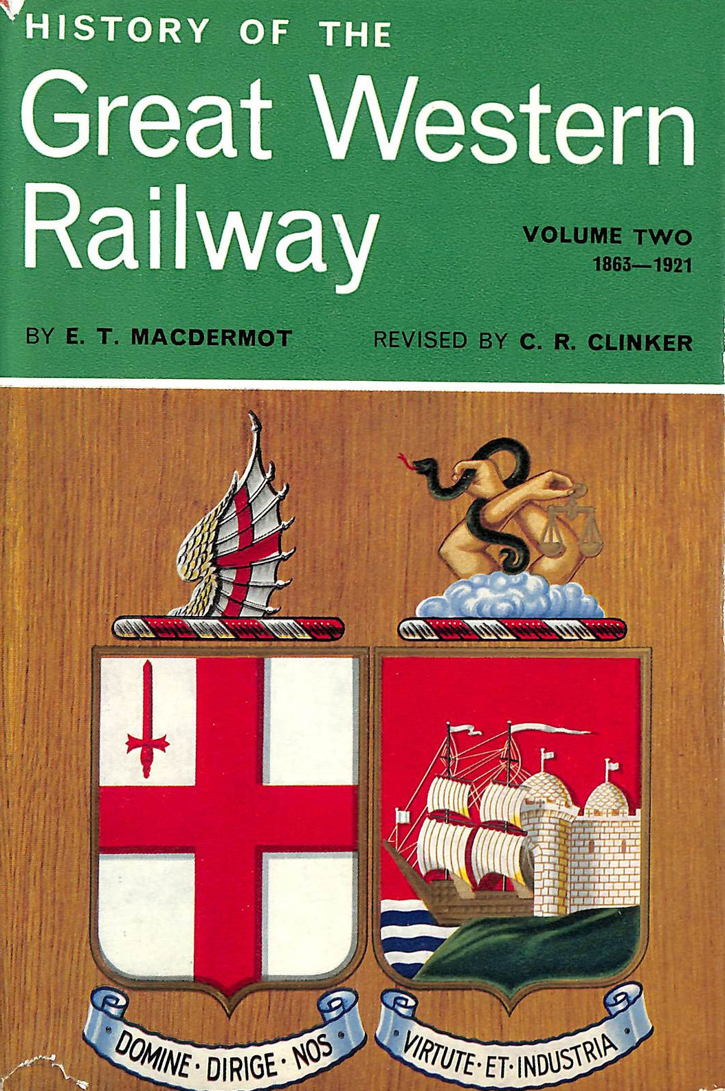 Image for History of the Great Western Railway - Volume 2 - 1863 - 1921
