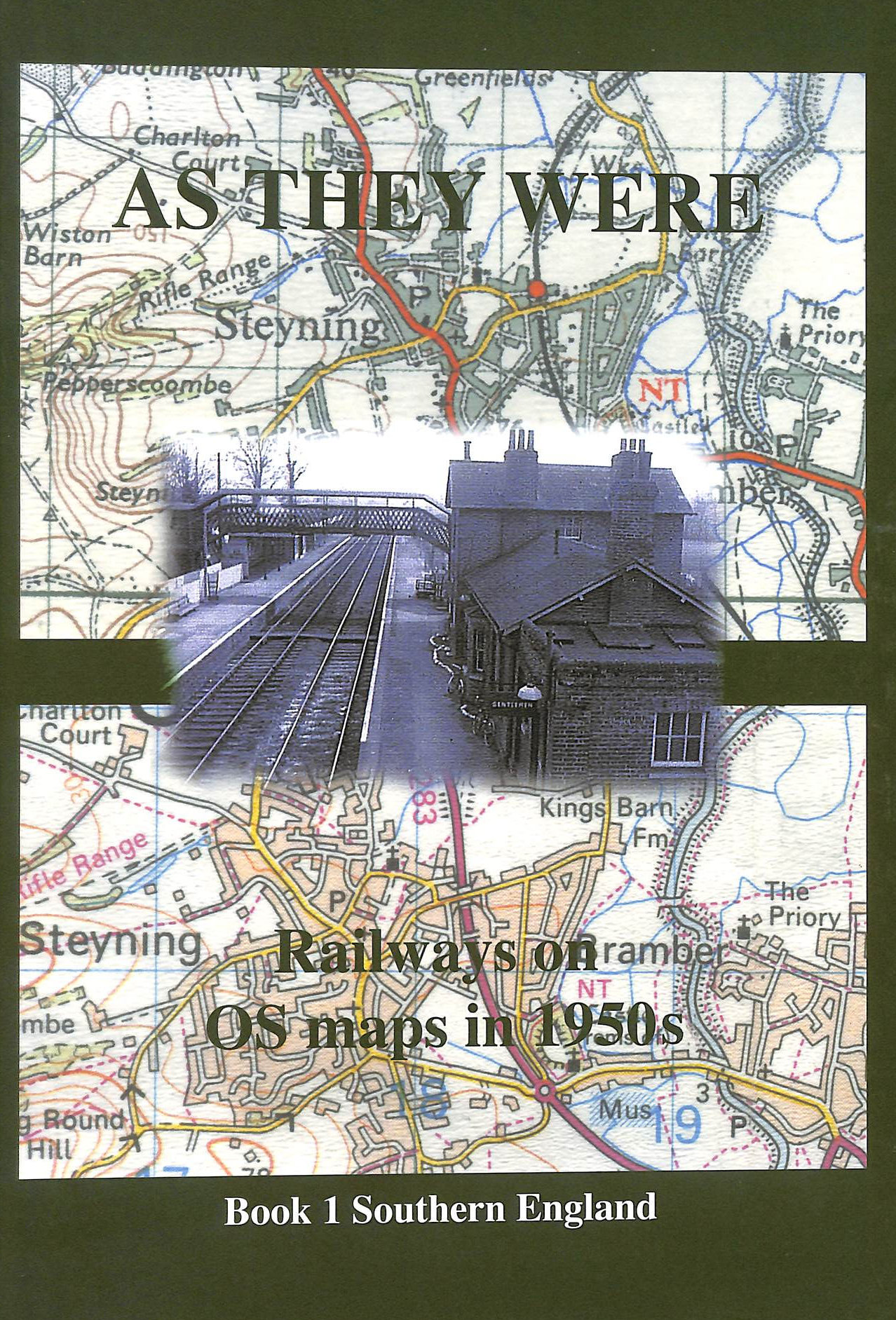 Image for As They Were: Railways on O.S. Maps in 1950's (Book 1 Southern England)
