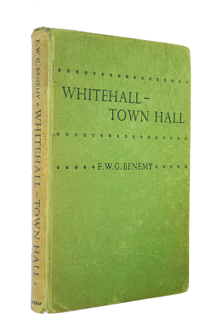 Image for Whitehall-Town Hall, A Breif Account Of Central And Local Government.