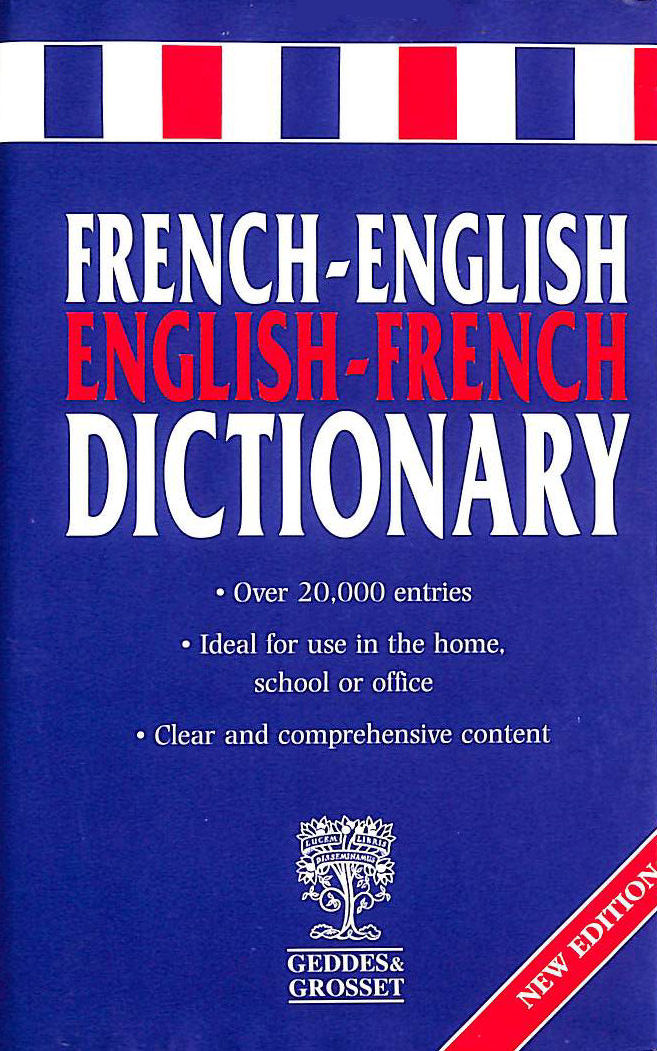 Image for French-English Dictionary
