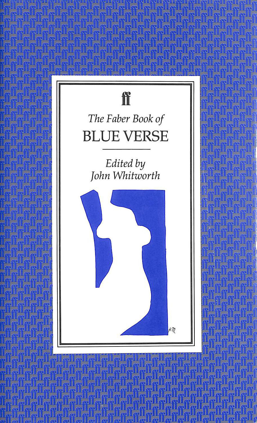 Image for The Faber Book of Blue Verse