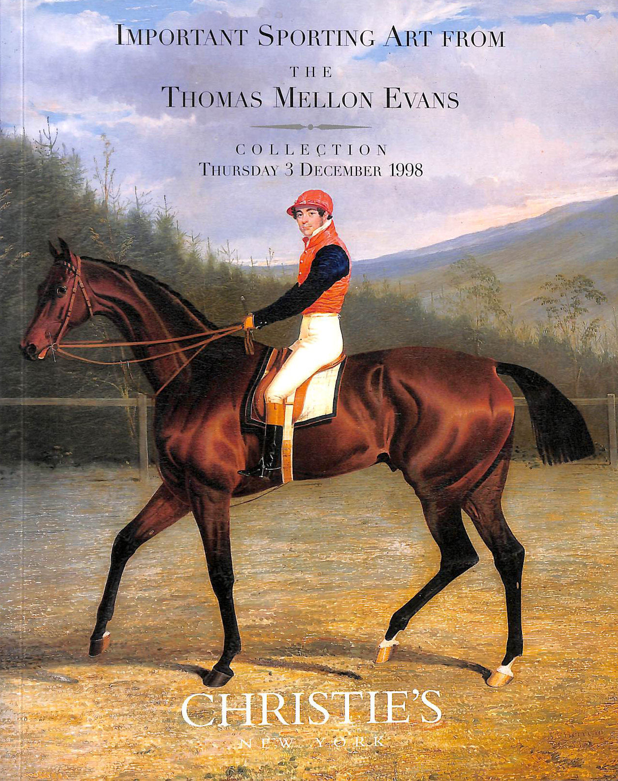 Image for Important Sporting Art from the Thomas Mellon Evans Collection (Christie's New York 12/3/1998 Sale #8944)