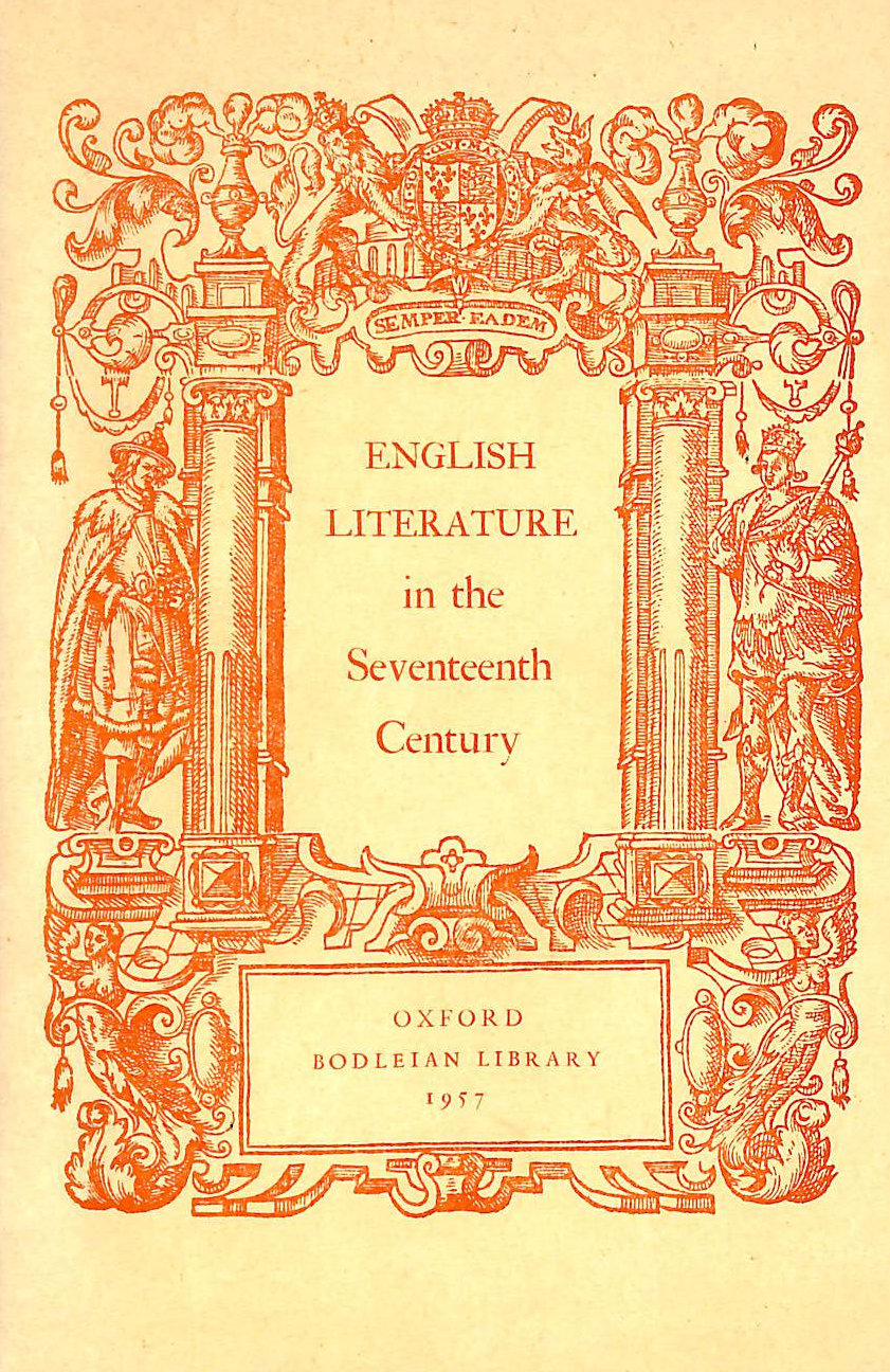 Image for English Literature in the Seventeenth Century: Exhibition Guide