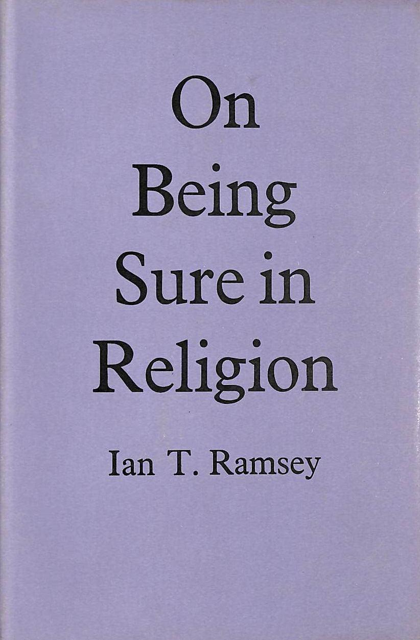 Image for On Being Sure in Religion