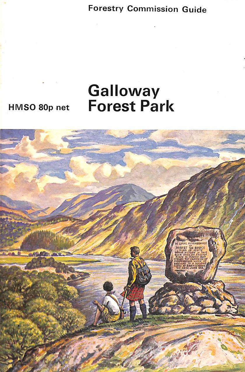 Image for Galloway Forest Park (Forestry Commission Guide)