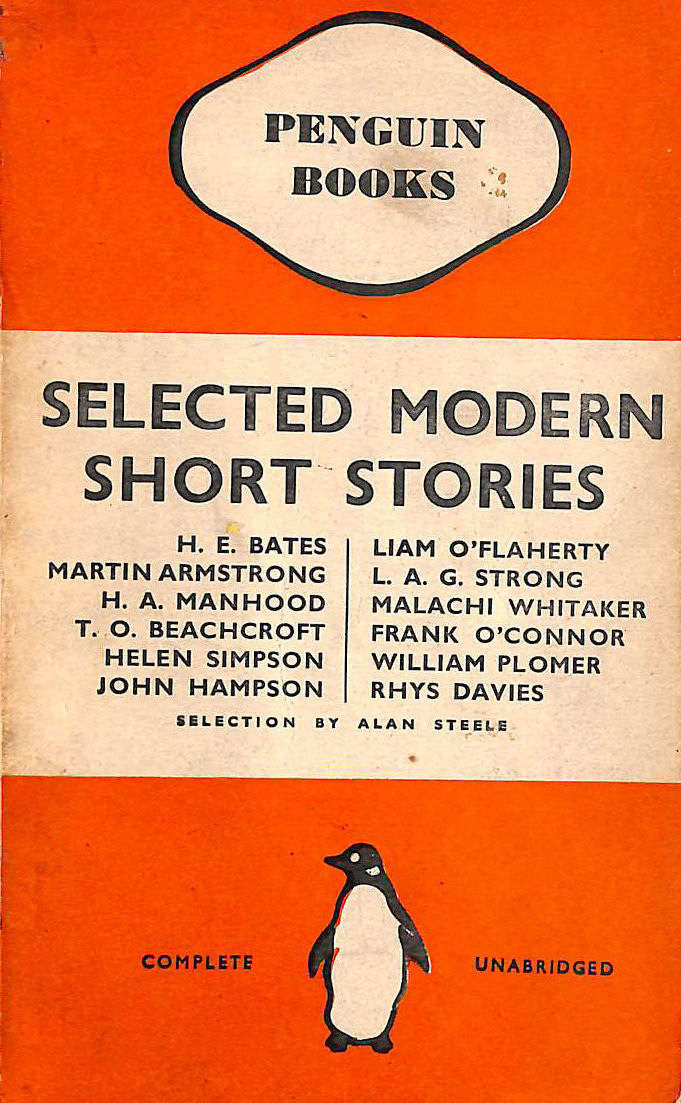 Image for Selected Modern Short Stories