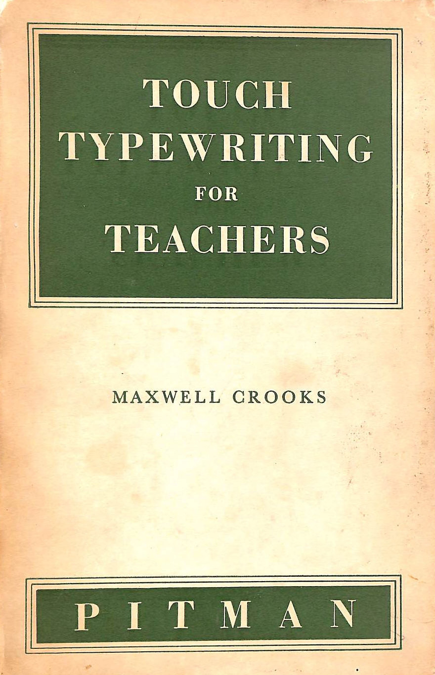 Image for Touch Typewriting for Teachers