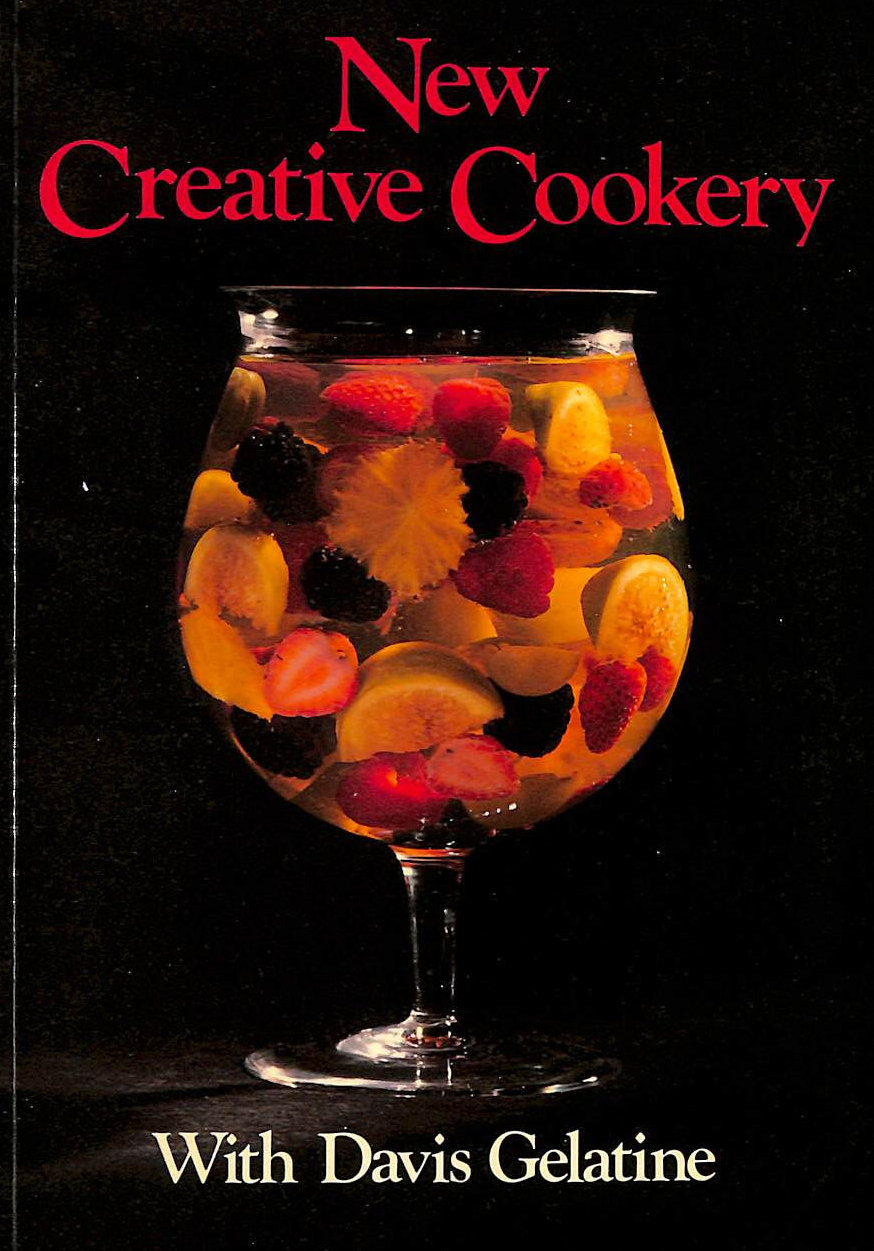 Image for New Creative Cookery with Davis Gelatine