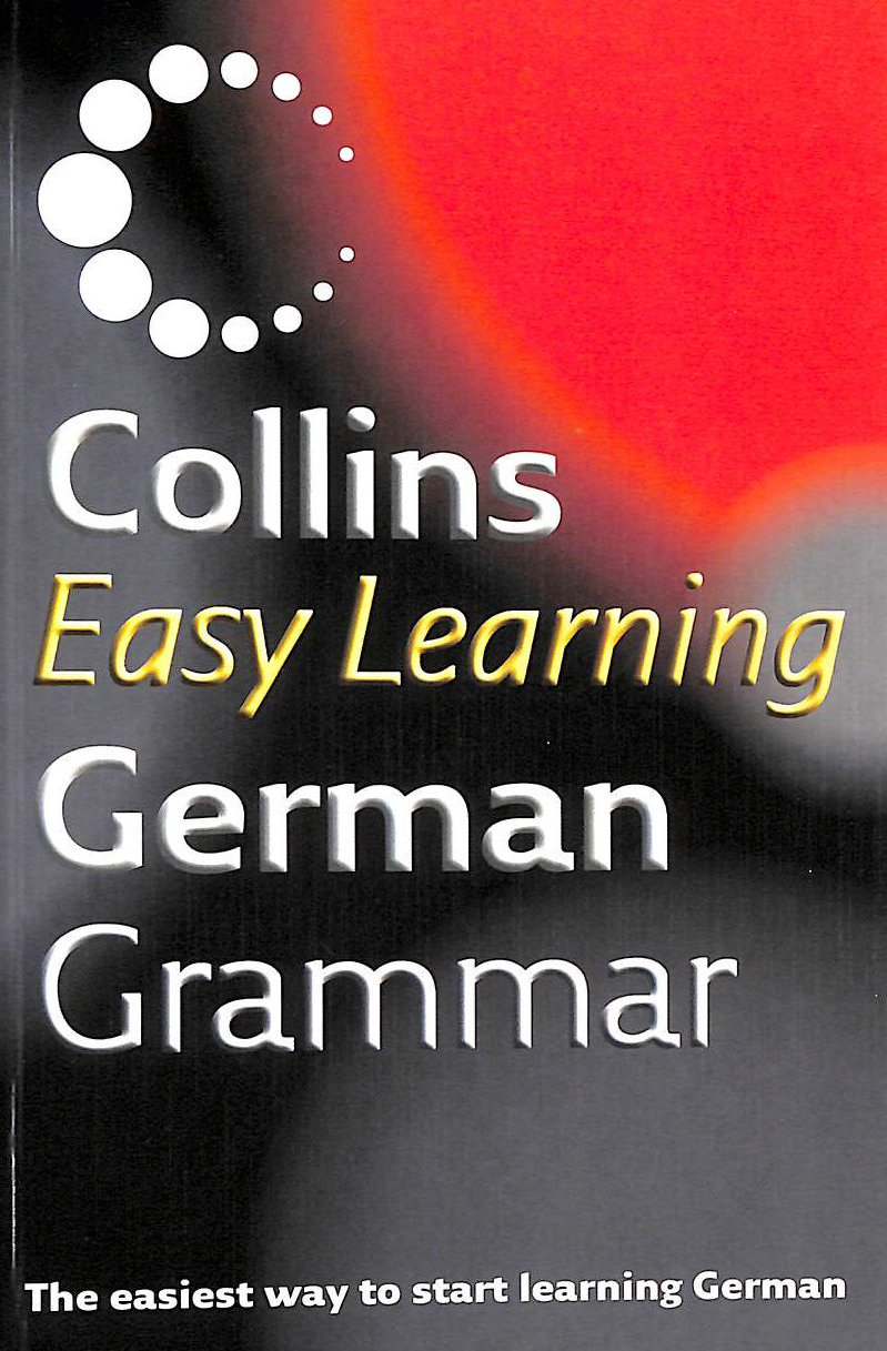 Image for Collins Easy Learning - Collins Easy Learning German Grammar