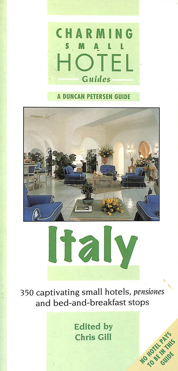 Image for Italy (Charming Small Hotel Guides)