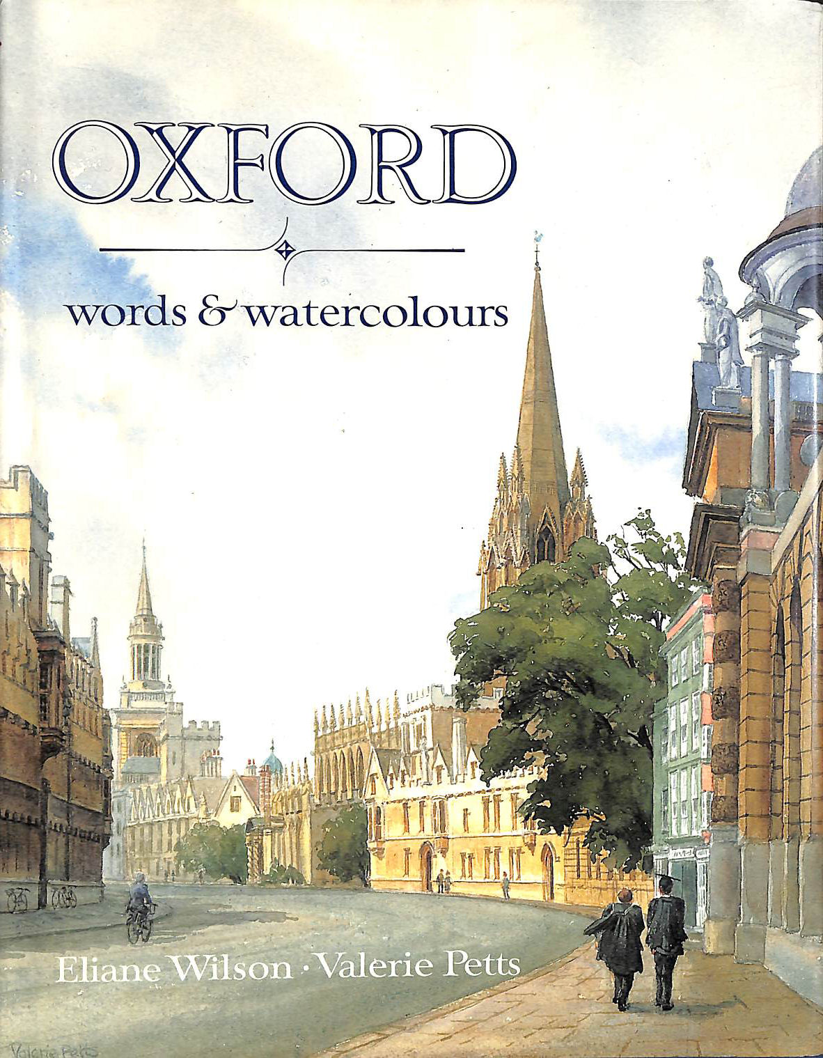 Image for Oxford: Words and Watercolours