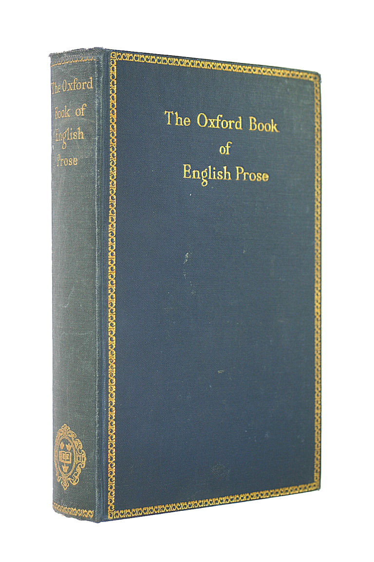 Image for The Oxford Book Of English Prose