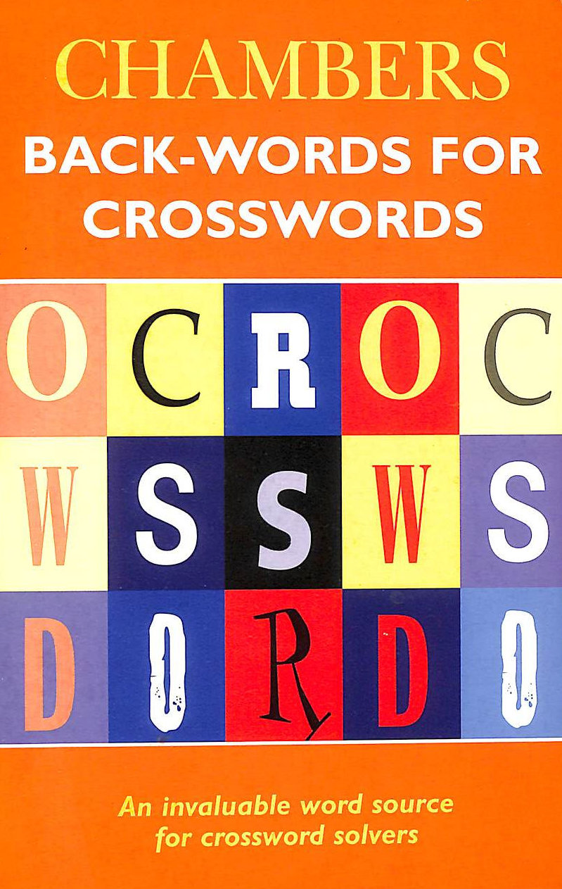 Image for Chambers Back-words for Crosswords