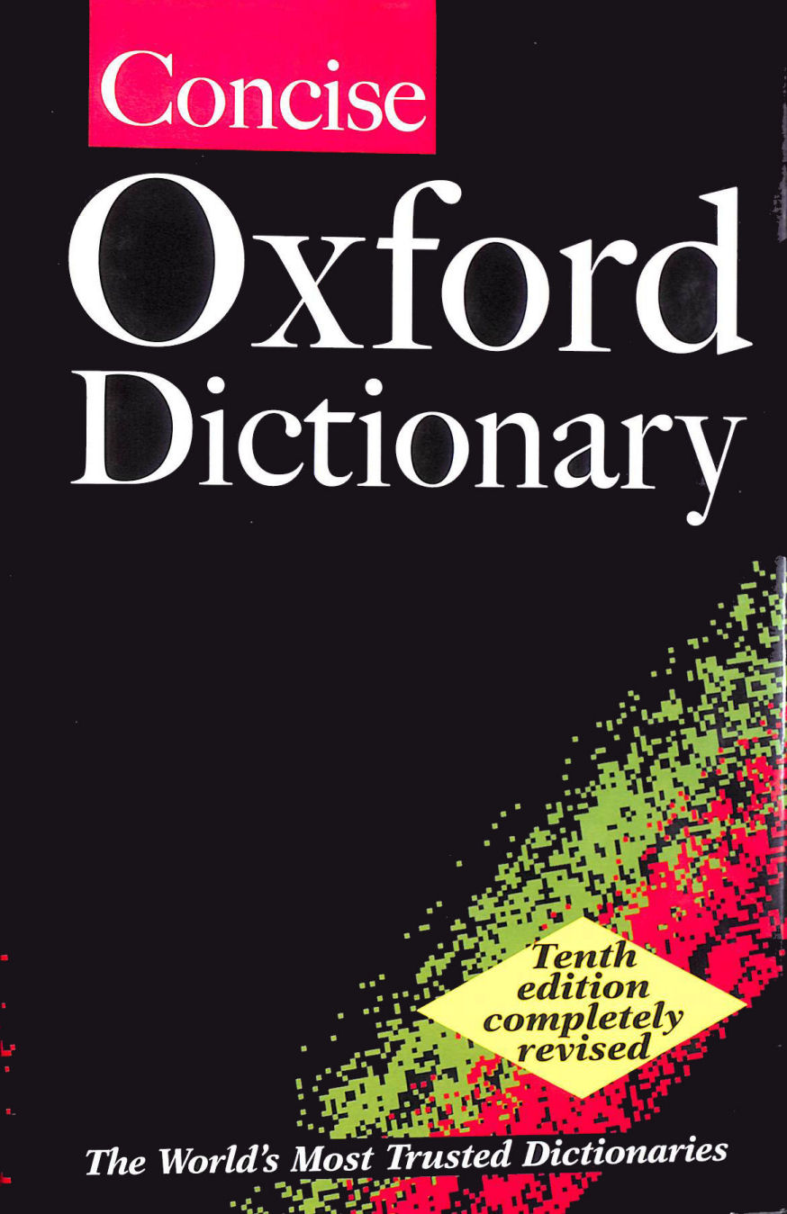 Image for The Concise Oxford Dictionary