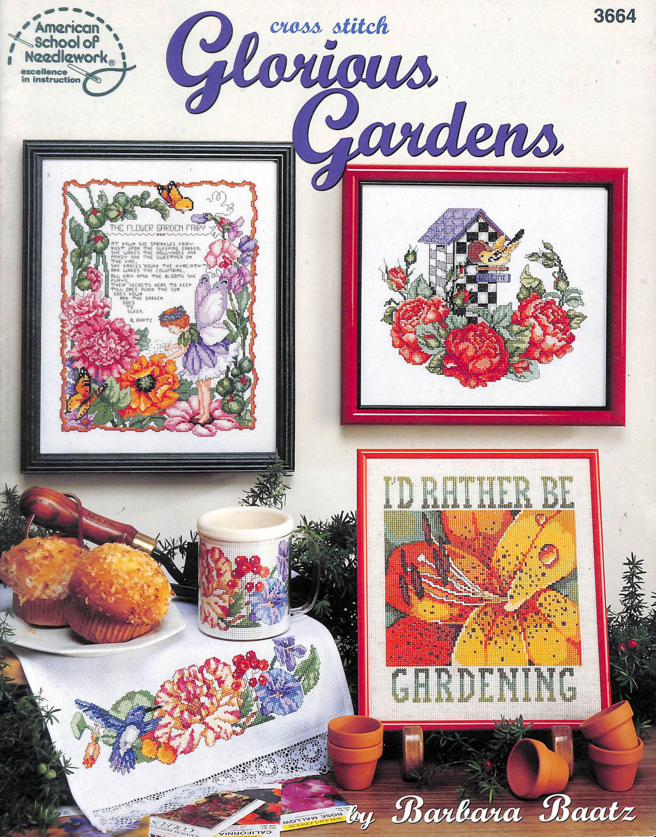 Image for Glorious Gardens - Cross Stitch - #3664 - American School of