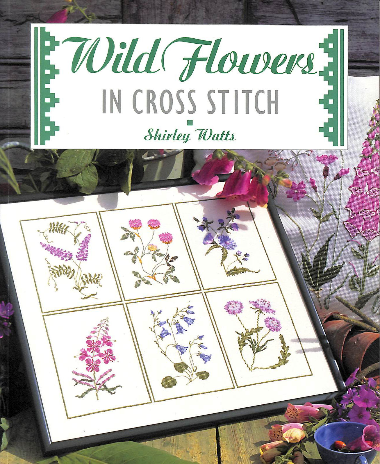 Image for Wild Flowers in Cross Stitch