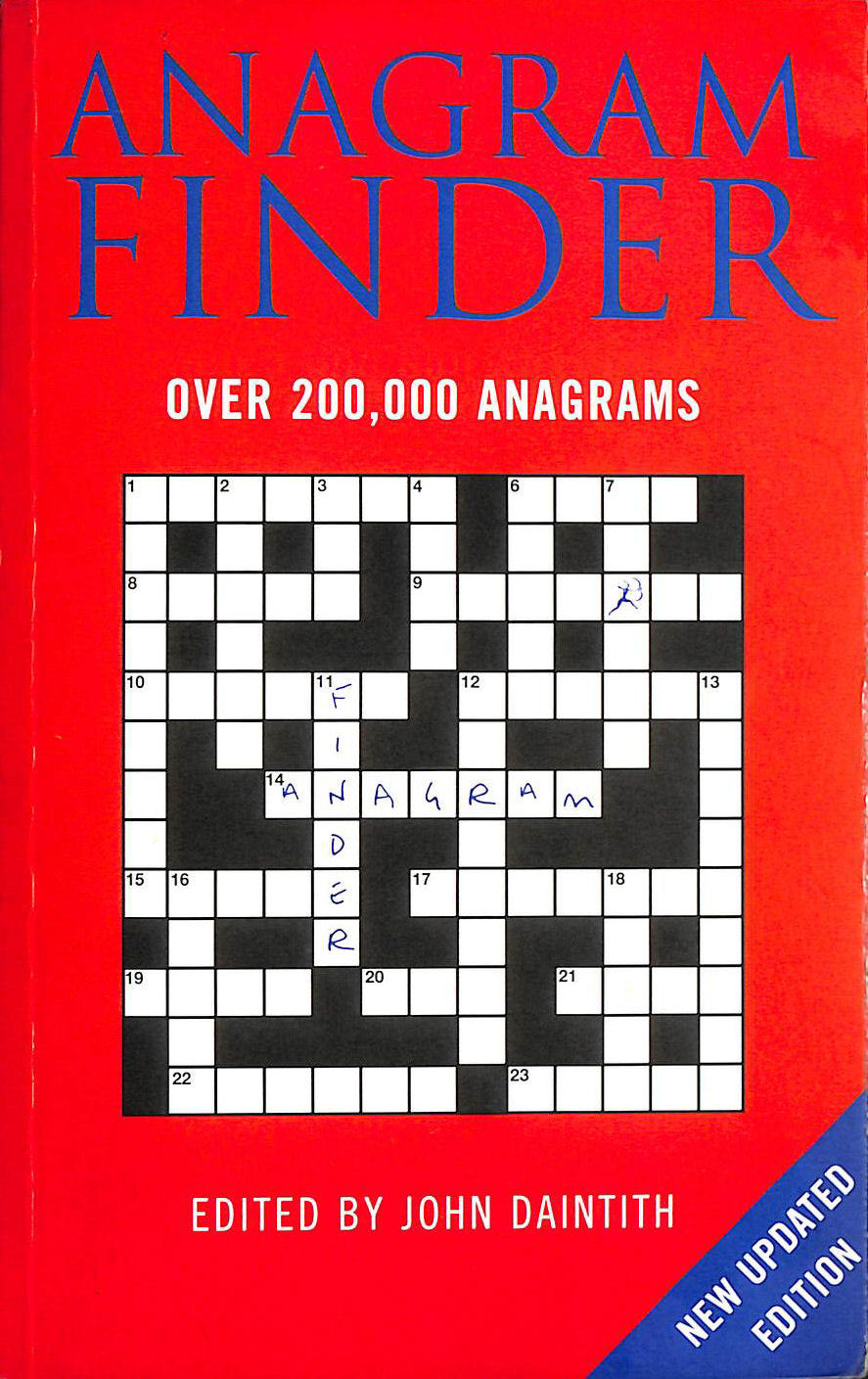 Image for Bloomsbury Anagram Finder: Over 200,000 Anagrams