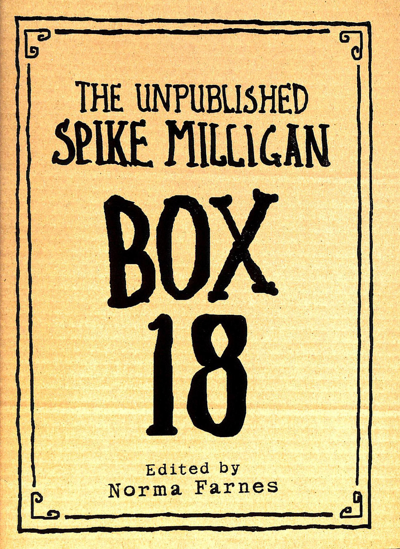 Image for Box 18: The Unpublished Spike Milligan