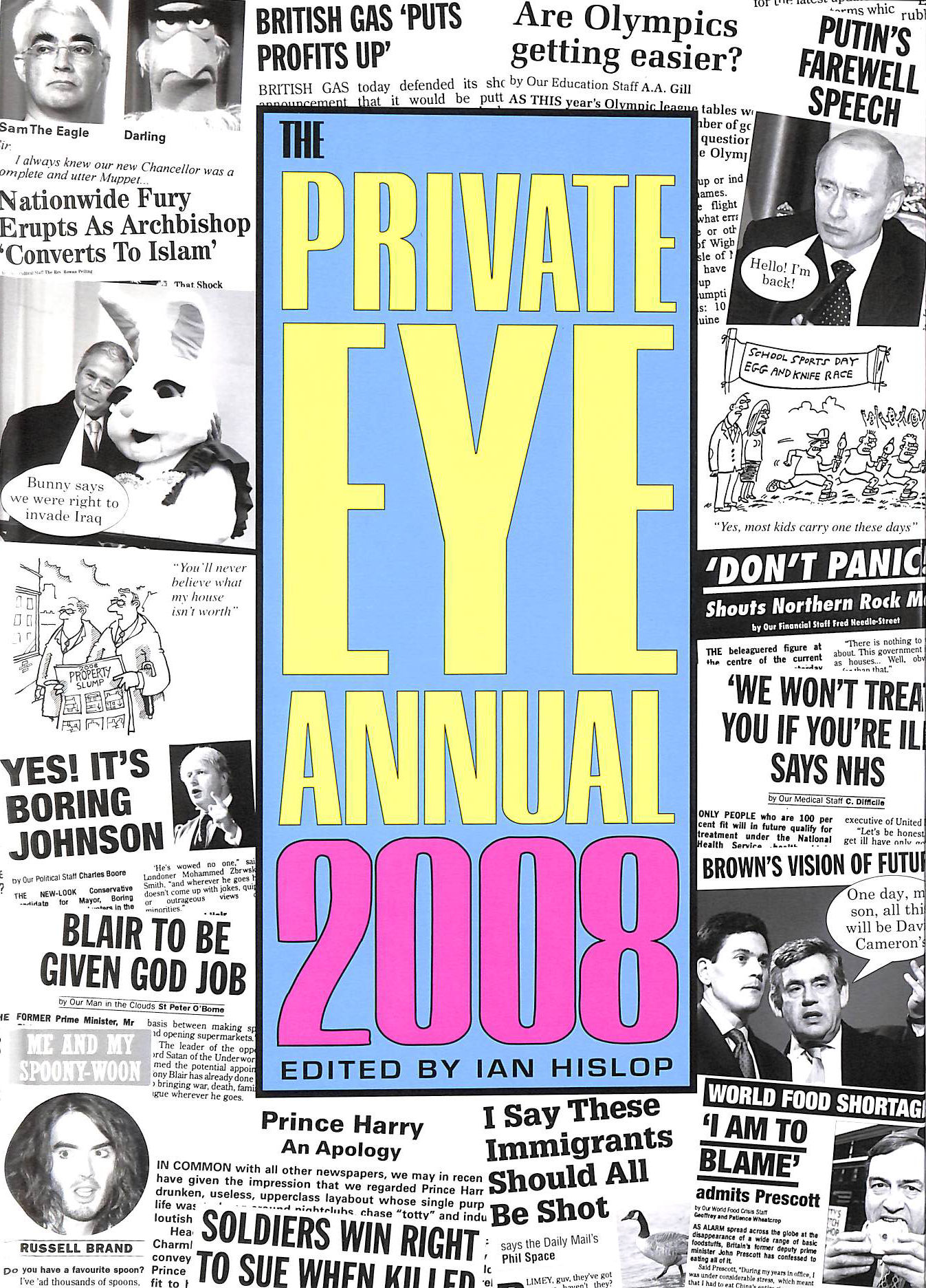 Image for Private Eye Annual 2008