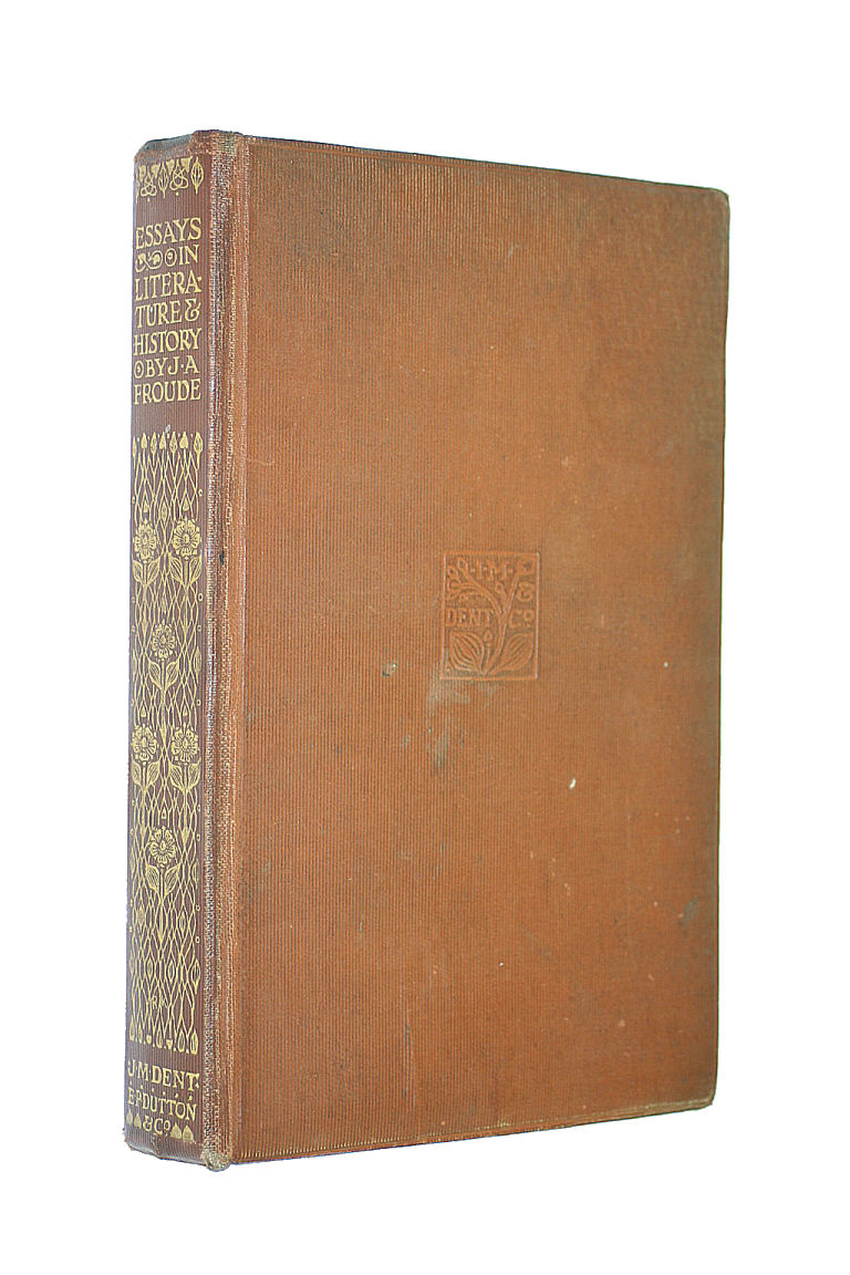 Essays in Literature & History. Everyman's Library No.13