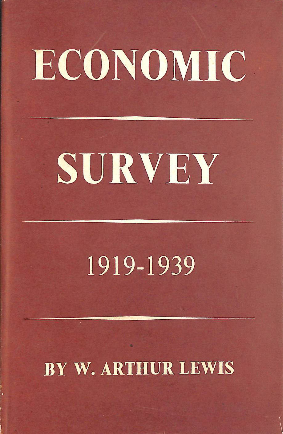 Image for Economic Survey 1919-1939