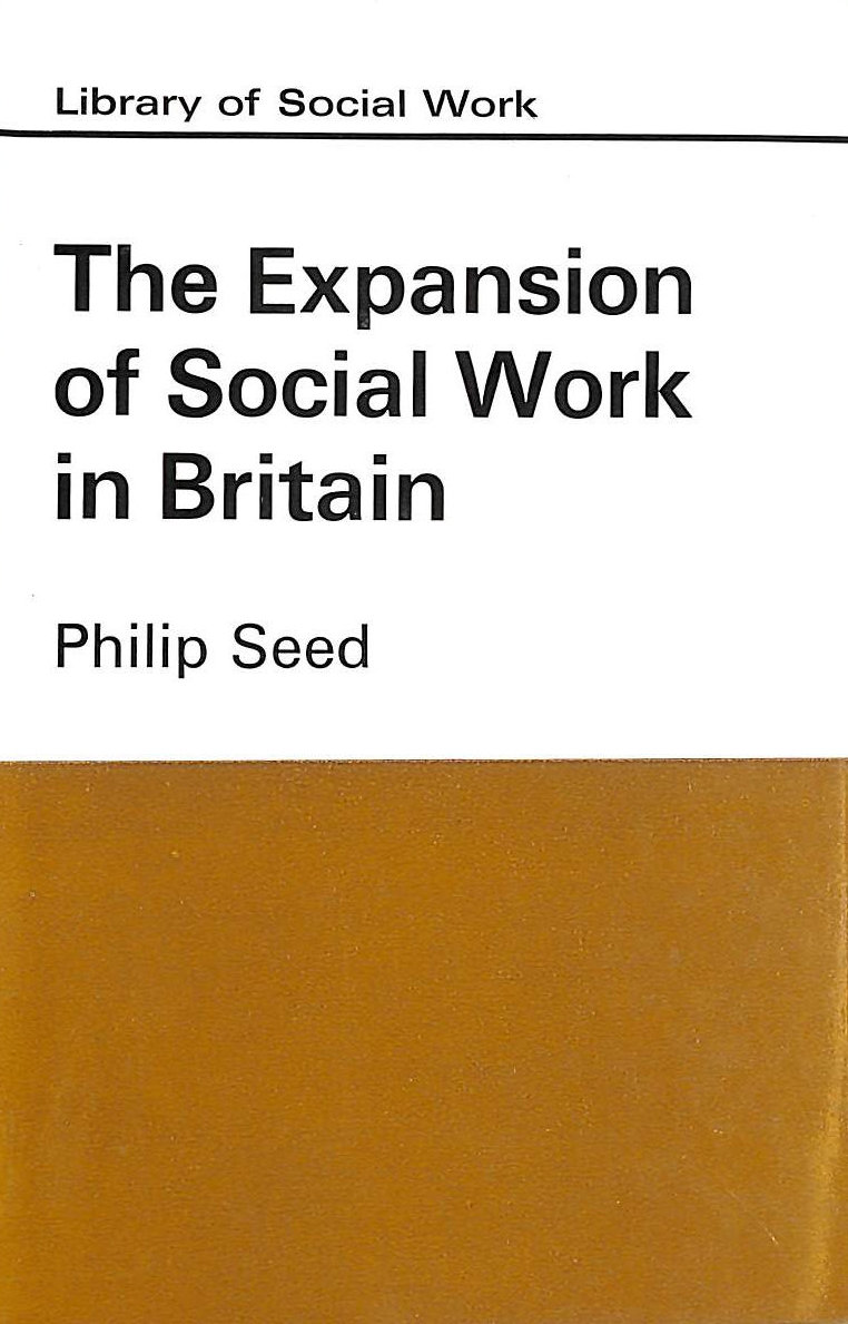 Image for Expansion of Social Work in Britain (Library of Social Work)