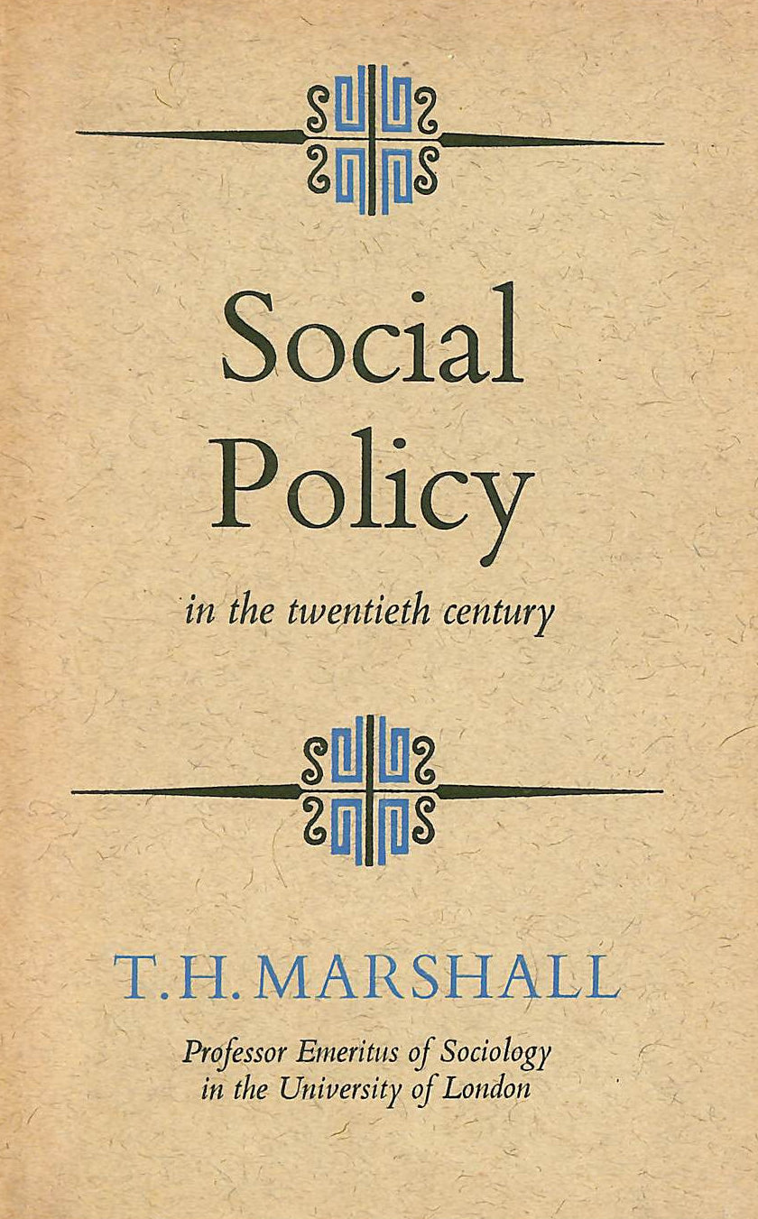 Image for Social Policy In The Twentieth Century.