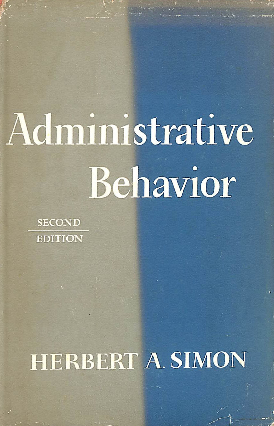 Image for Administrative Behavior