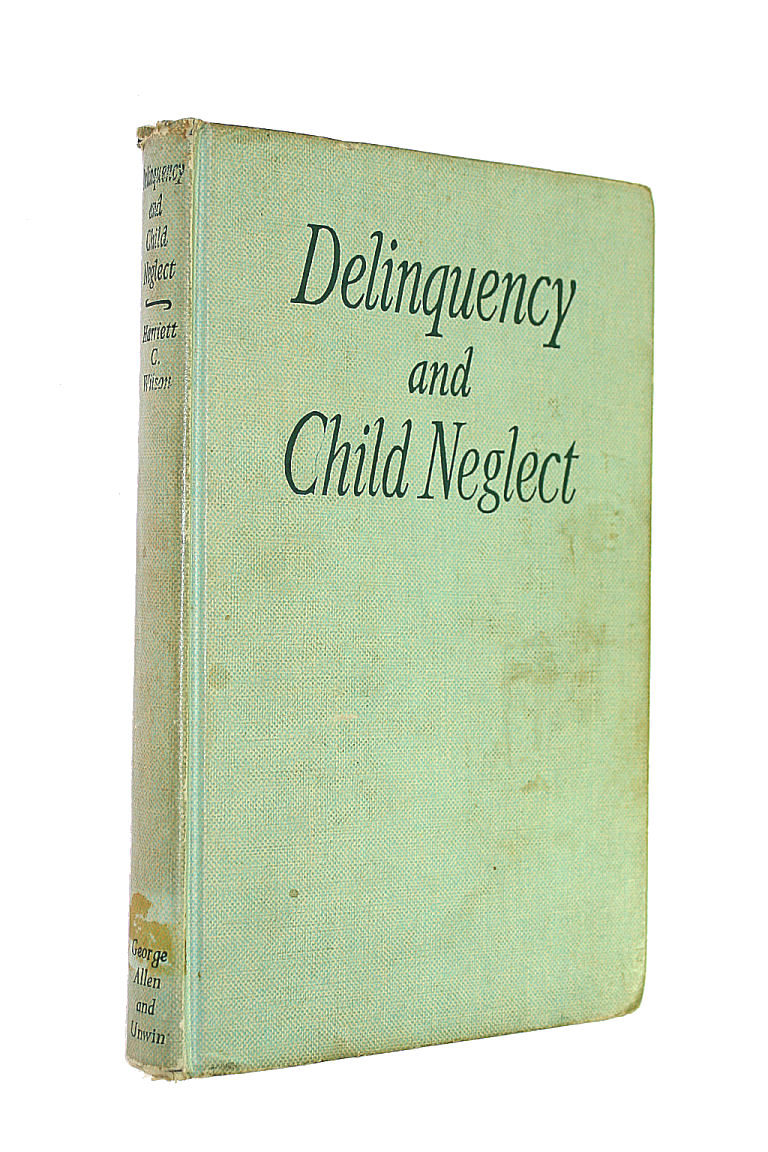 Image for Delinquency and Child Neglect