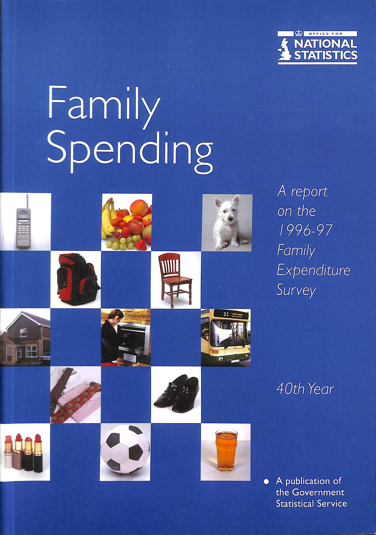 Image for Family Spending 1996-97: A Report on the Family Expenditure Survey